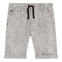 RJR.John Rocha - Boys' grey linen blend shorts