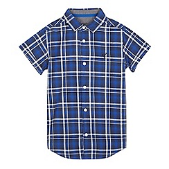 RJR.John Rocha - Boys' blue ombre check shirt