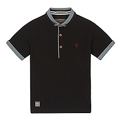 RJR.John Rocha - Boys' black pique polo shirt