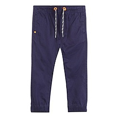 bluezoo - Boys' navy woven jogging bottoms