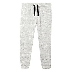bluezoo - Boys' grey textured jogging bottoms