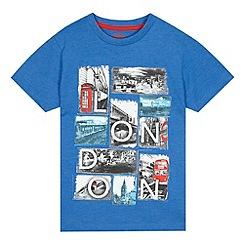 bluezoo - Boys' blue London t-shirt