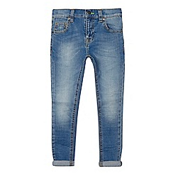 bluezoo - Girls' blue super skinny jeans