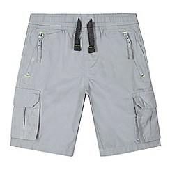 bluezoo - Boys' grey cargo shorts