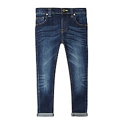 bluezoo - Boys' dark blue super skinny jeans