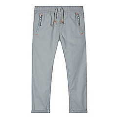 bluezoo - Boys' grey zip pocket trousers