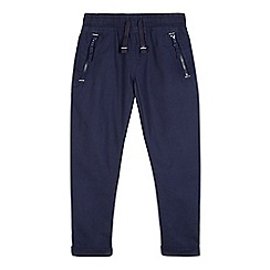 bluezoo - Boys' navy zip trousers