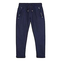 bluezoo - Boys' navy zip trousers