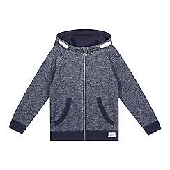 bluezoo - Boys' navy zip hoodie