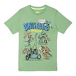 bluezoo - Boys' 'Dinosaurs on Holiday' print t-shirt