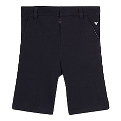 J by Jasper Conran - Boys' navy textured shorts