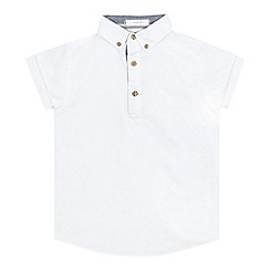 J by Jasper Conran - Boys' white Oxford shirt