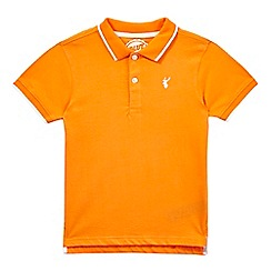 bluezoo - Boys' orange polo shirt