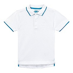 bluezoo - Boys' white polo shirt