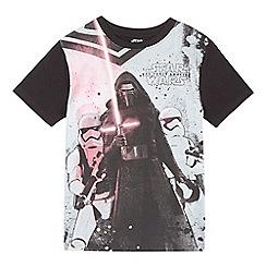 Star Wars - Boys' 'Kylo Ren' print glow in the dark t-shirt