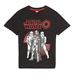 Star Wars - Boys' black Star Wars 'Captain Phasma' print t-shirt
