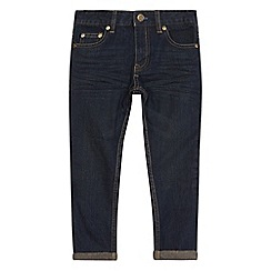 bluezoo - Boys' dark blue slim fit jeans
