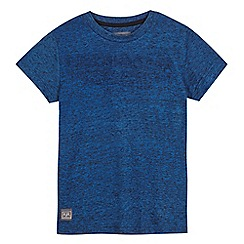 RJR.John Rocha - Boys' blue raised logo t-shirt