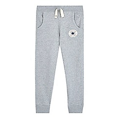 Converse - Boys' grey 'All Star' slim fit jogging bottoms