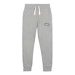 Converse - Boys' grey 'All Star' pique slim fit jogging bottoms