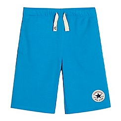 Converse - Boys' blue French terry shorts