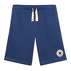 Converse - Boys' navy French terry shorts