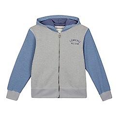 Converse - Grey pique hoodie