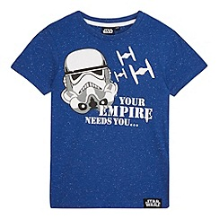 Star Wars - Boys' blue 'Star Wars' Stormtrooper t-shirt
