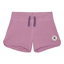 Converse - Girls' pink 'Core' shorts