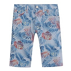 Levi's - Boys' grey tropical print jeans