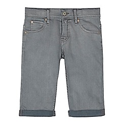 Levi's - Boys' grey slim fit shorts