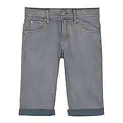 Levi's - Boys' grey slim fit shorts