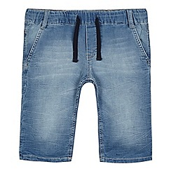 Levi's - Boys' blue denim jogging bottoms
