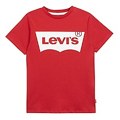 Levi's - Boys' red logo t-shirt