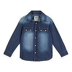 Levi's - Boys' long sleeve denim shirt