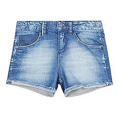 Levi's - Girls' blue denim shorts