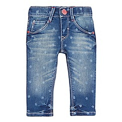 Levi's - Baby girls' blue star print jeans