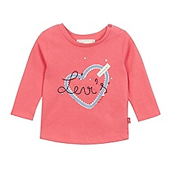 Levi's - Baby girls' bright pink t-shirt