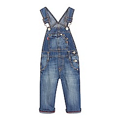 Levi's - Baby boys' blue denim dungarees