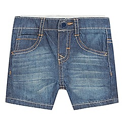 Levi's - Baby boys' blue denim shorts