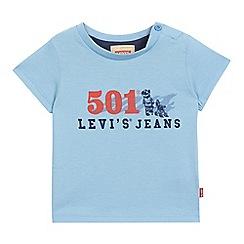 Levi's - Baby boys' blue logo print t-shirt