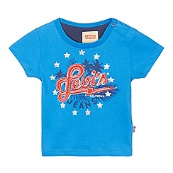 Levi's - Baby boys' blue star printed t-shirt