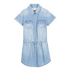 Levi's - Girls' light blue denim dress