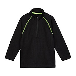 bluezoo - Boys' black sports sweater