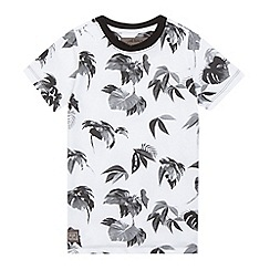 RJR.John Rocha - Boys' white hibiscus print t-shirt