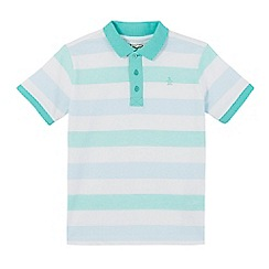 Penguin - Boys' multi-coloured striped polo shirt