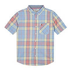 Penguin - Boys' multi-coloured checked print shirt