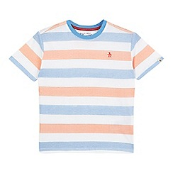 Penguin - Boys' multi-coloured striped t-shirt