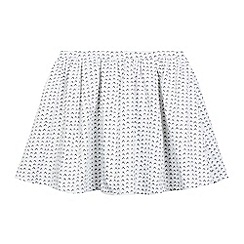 French connection - Girls' white V print skirt