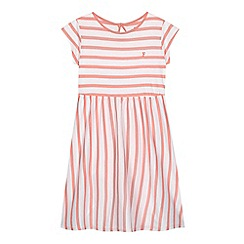 French connection - Girls' pink striped print dress